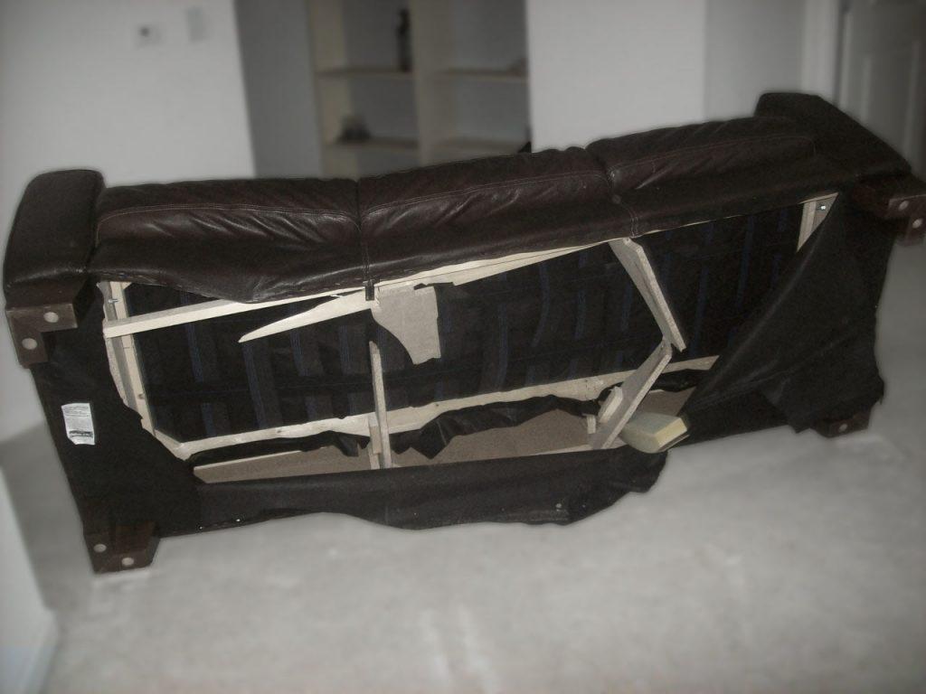 How To Repair A Broken Sofa Frame Home Everydayentropy Com